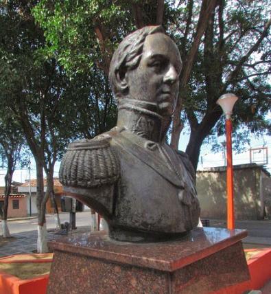 Busto de Rafael Urdaneta, Coro.