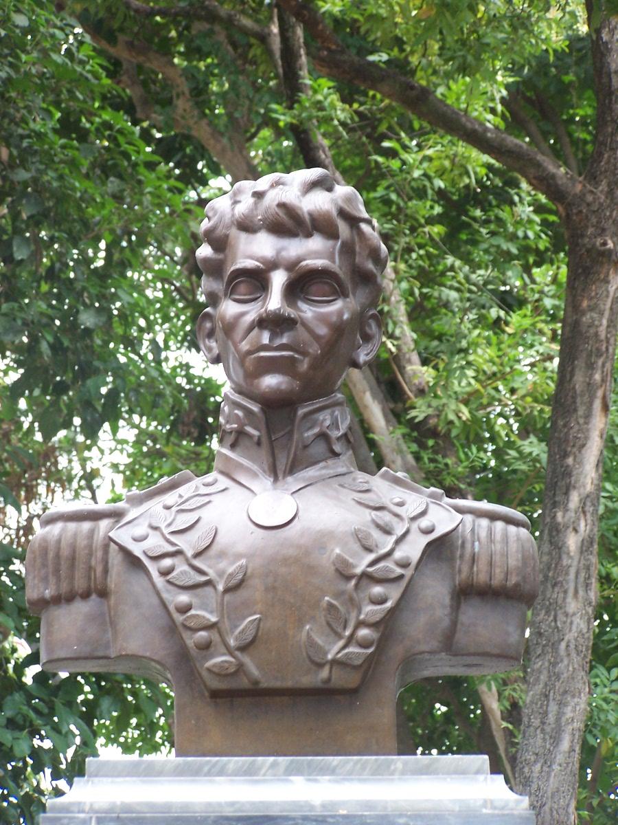 Busto de José Florencio Jiménez.