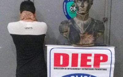 Delincuentes venden en Colombia el bronce patrimonial de Venezuela