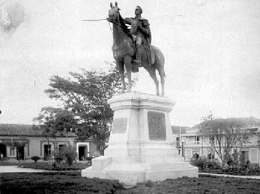 Estatua ecuestre de El Libertador
