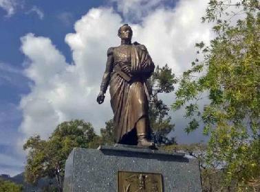 Estatua pedestre de Simón Bolívar