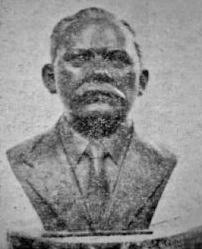 Busto de Pedro María Parra.