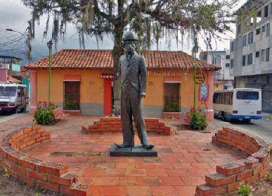 Estatua de Charles Chaplin
