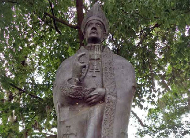 Estatua de Fray Juan Ramos de Lora