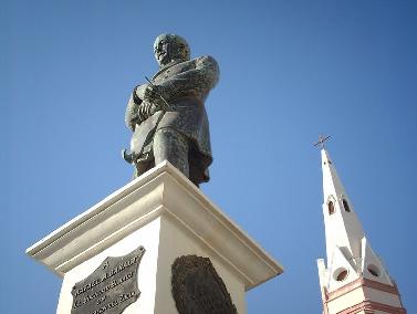 Estatua de Rafael María Baralt