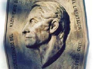 """Relieve """"Simón Bolívar"""""""