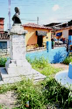 Busto y parque Ramón Buenahora. San Cristóbal - Táchira - Venezuela.