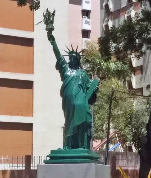 Estatua La Libertad, de Giovanni Turini.
