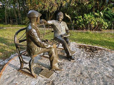 """Grupo escultórico """"La conversación"""""""