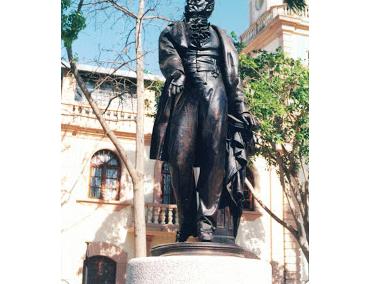 Estatua de Miguel Peña