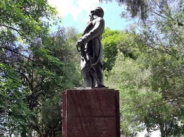 Estatua del Generalísimo Francisco de Miranda