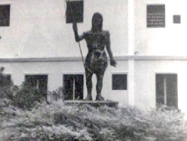 Estatua de San Juan Bautista