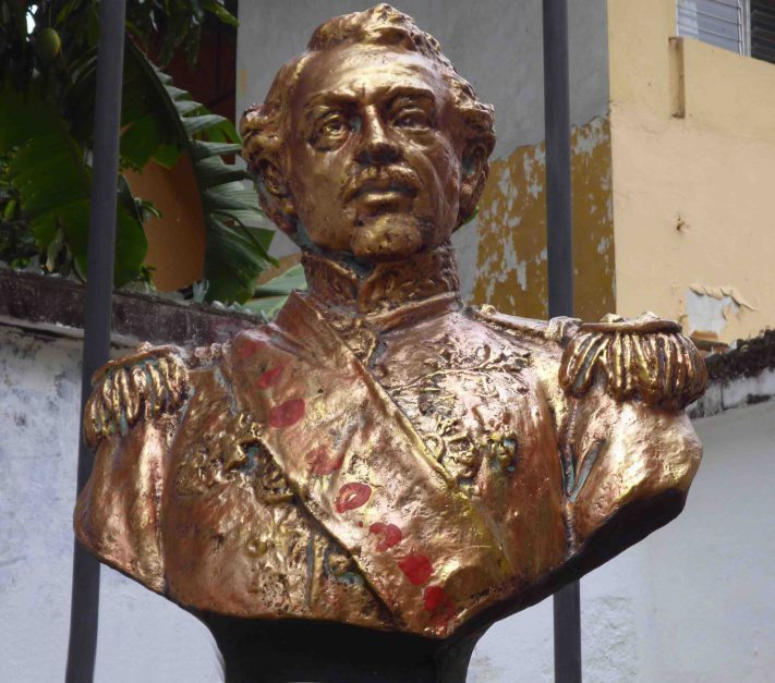 Busto de José Antonio Páez