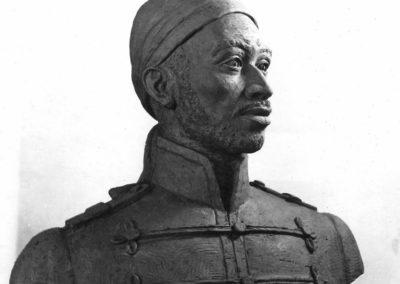 Busto de Pedro Camejo, Negro Primero