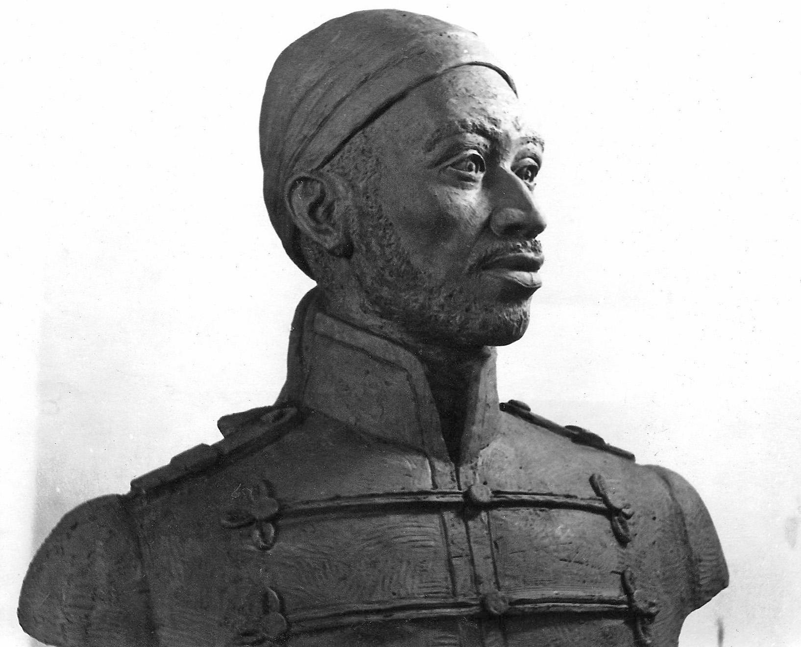 Busto de José Antonio Páez. Foto archivo José Ignacio Vielma.